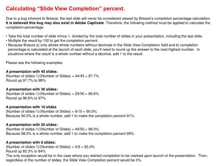 """Calculating """"Slide View Completion"""" percent."""