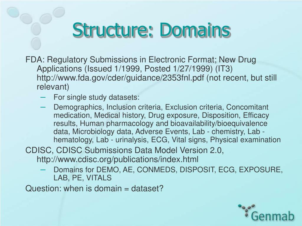 Structure: Domains