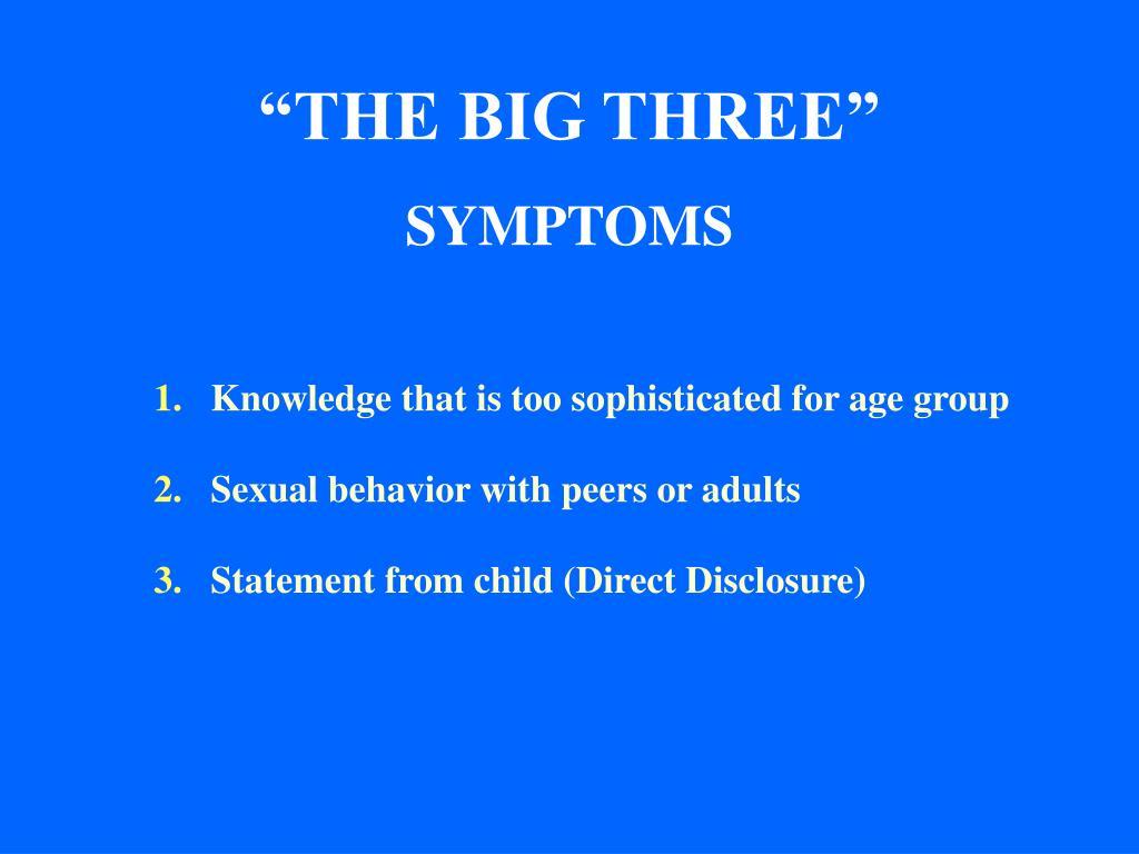 """THE BIG THREE"""
