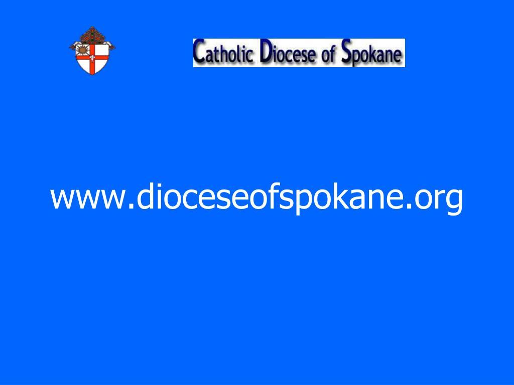 www.dioceseofspokane.org