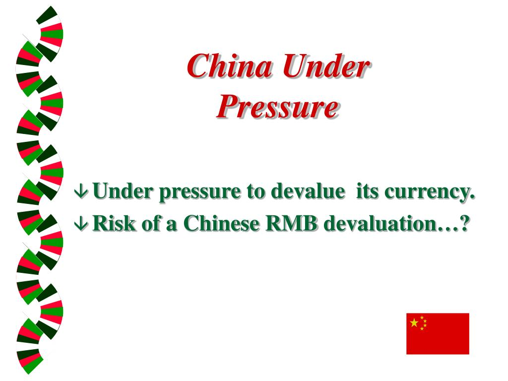 China Under Pressure