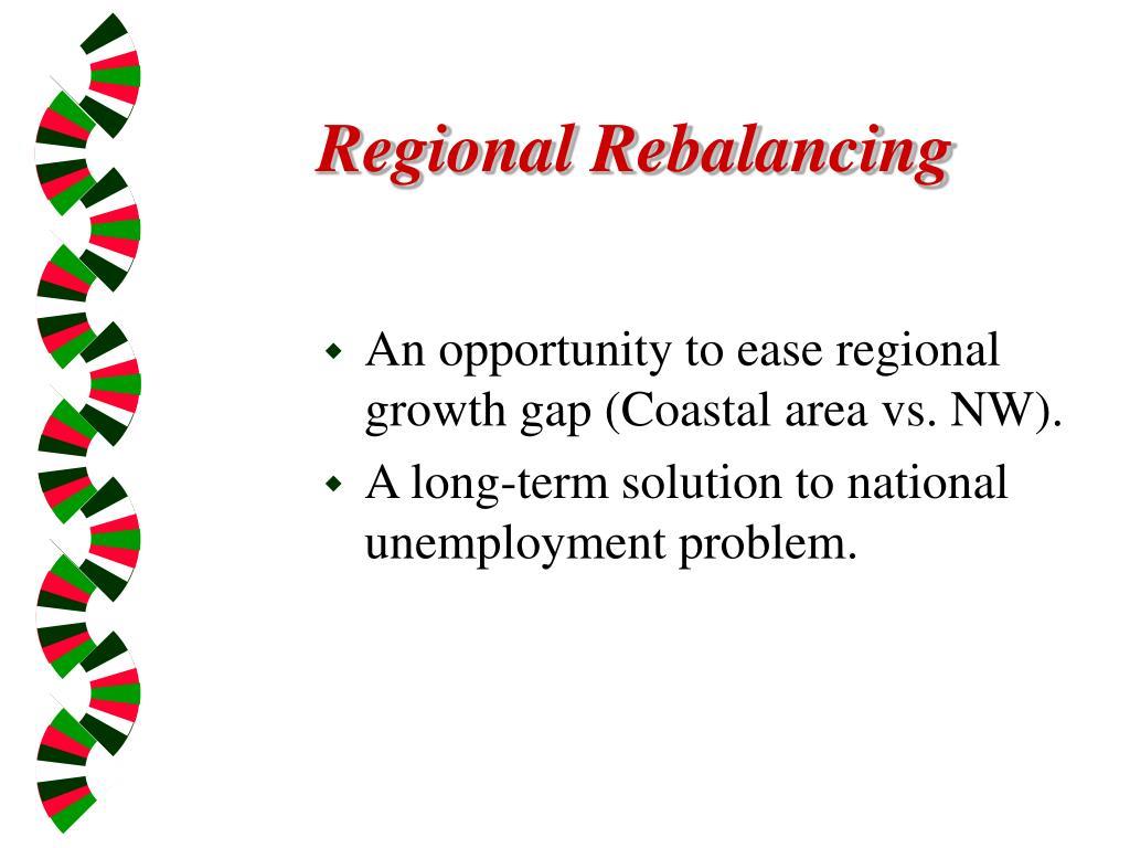 Regional Rebalancing