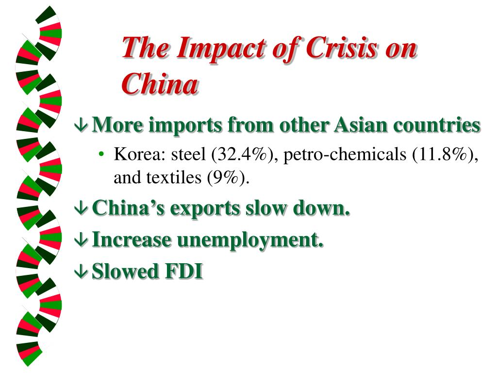 The Impact of Crisis on China