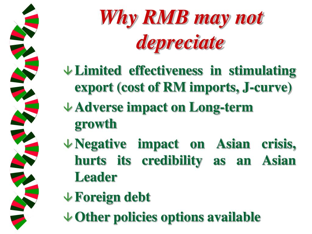 Why RMB may not depreciate