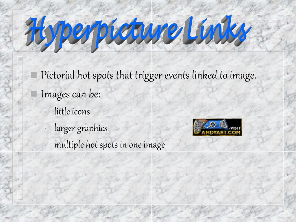 Hyperpicture Links
