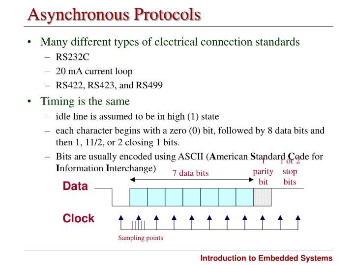 Asynchronous Protocols