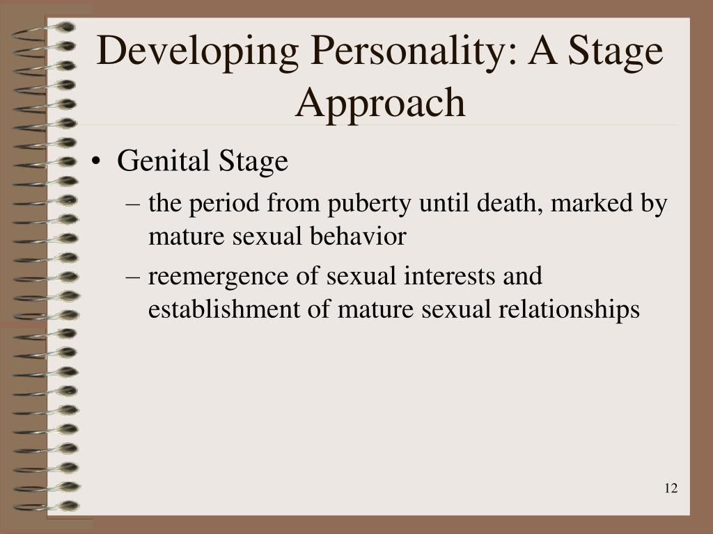 Developing Personality: A Stage Approach