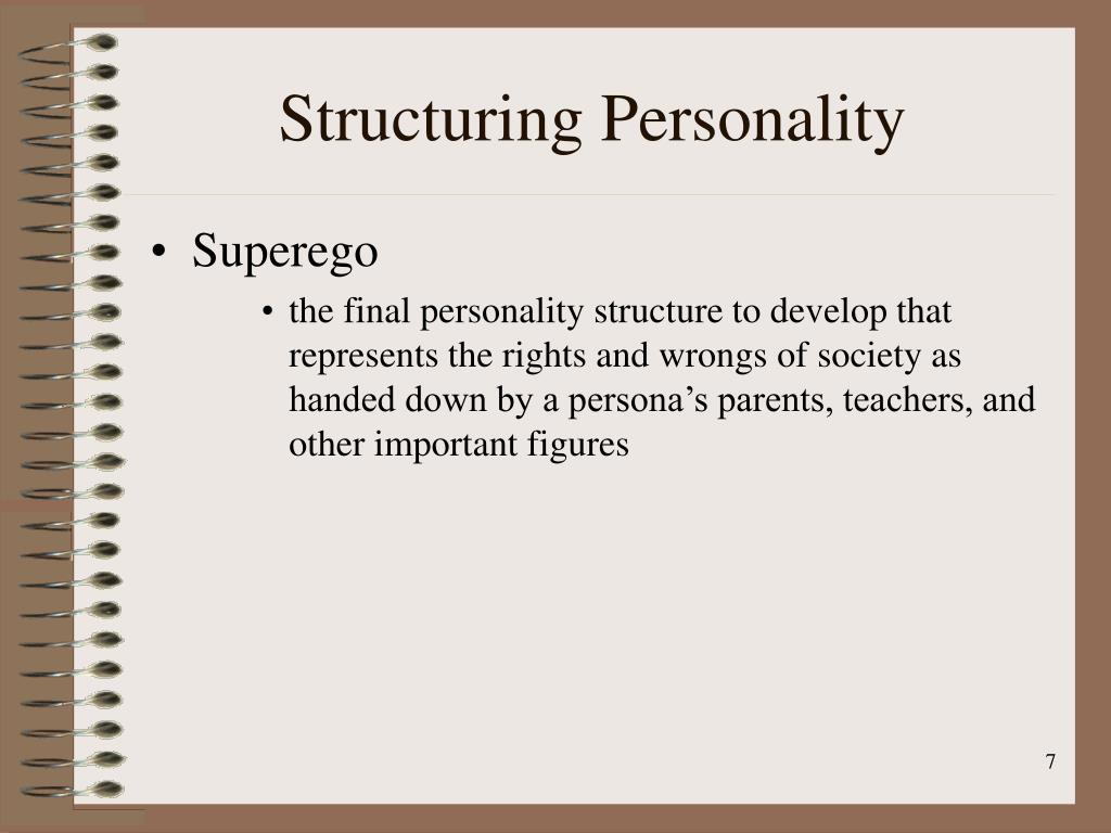 Structuring Personality