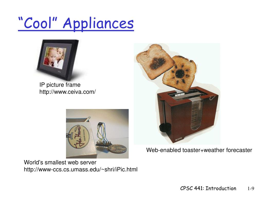 """Cool"" Appliances"