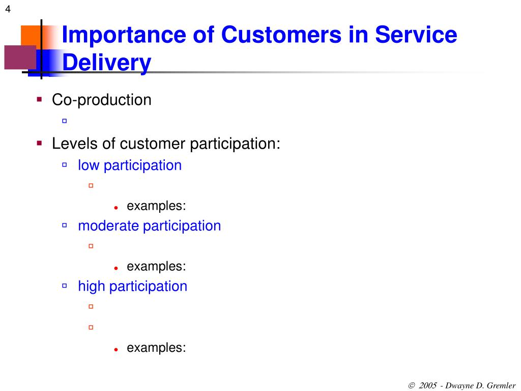 Importance of Customers in Service Delivery