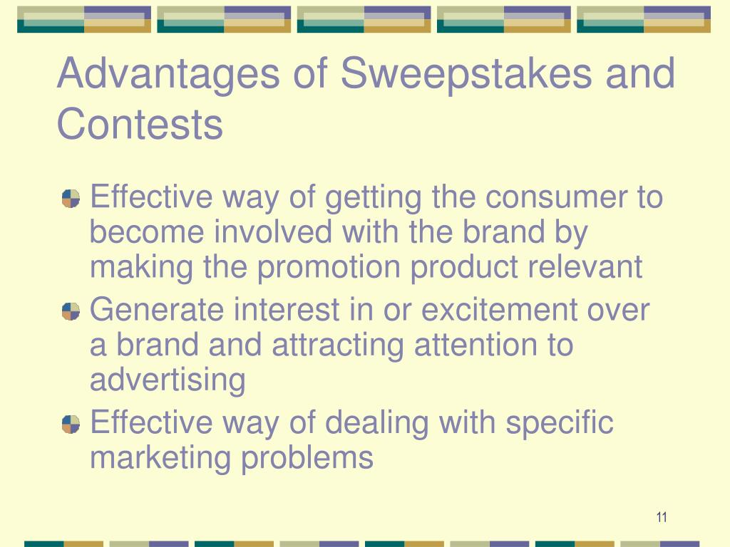 Advantages of Sweepstakes and Contests