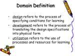 domain definition