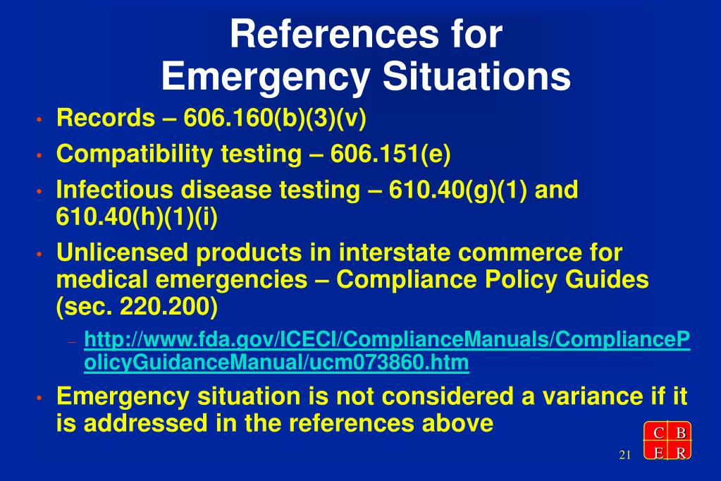 References for