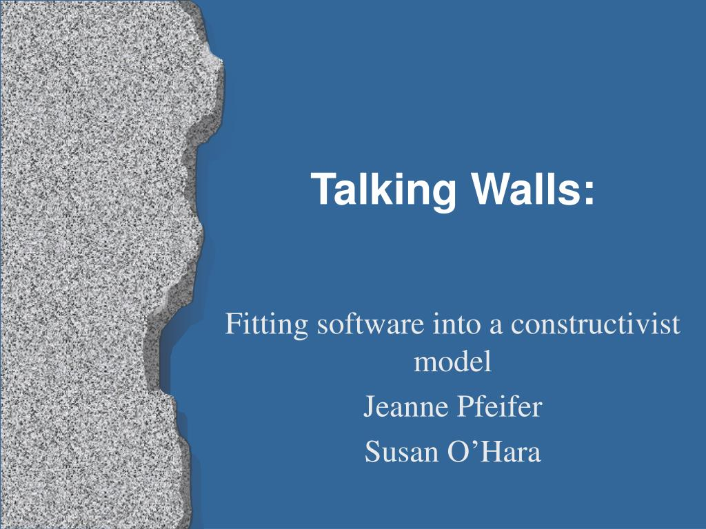 talking walls l.