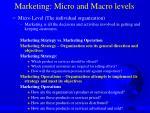 marketing micro and macro levels3