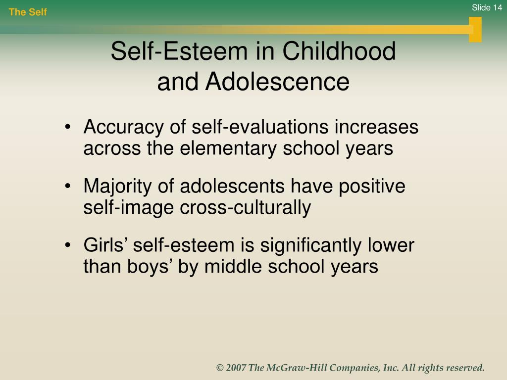 adolescent self esteem essay Volume 3 1 abstract the relationship between maternal self-esteem and adolescent self-esteem was examined in a descriptive, correlational studythe study sample con.