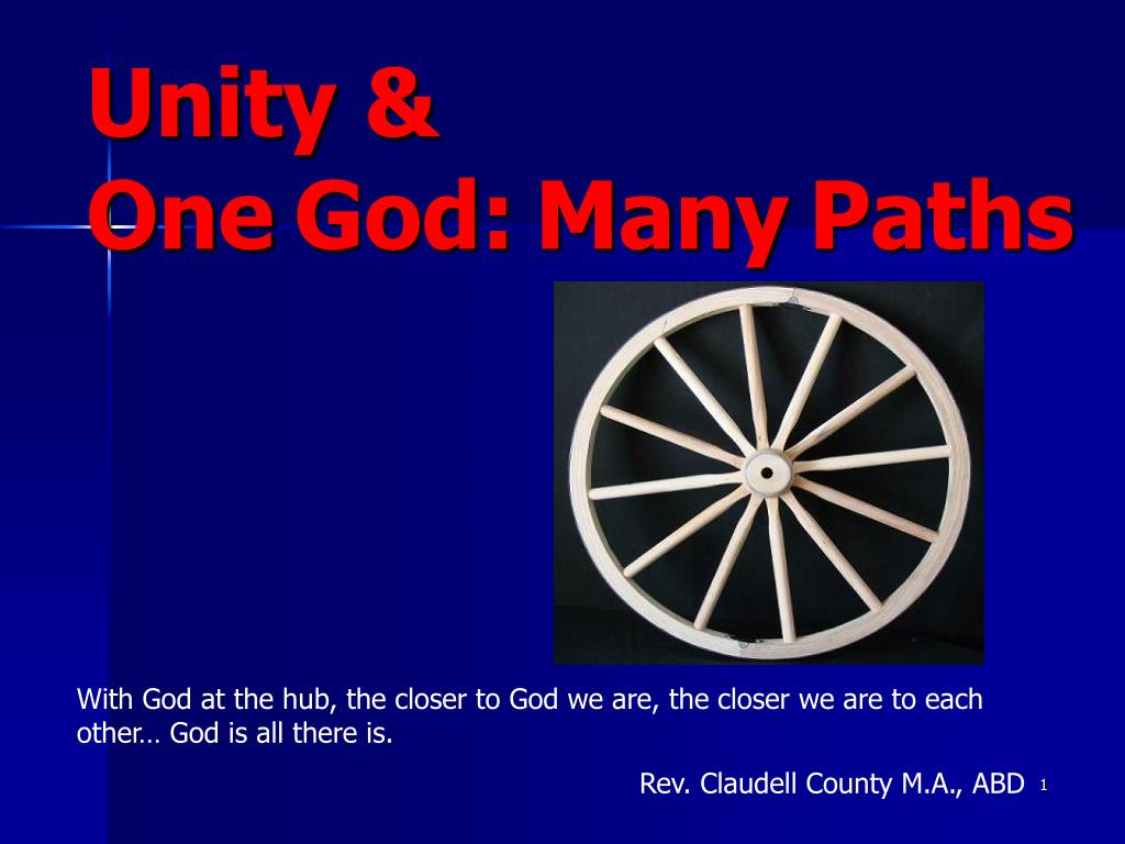 unity one god many paths l.