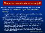 character education is an inside job