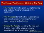 the people the process priming the pump