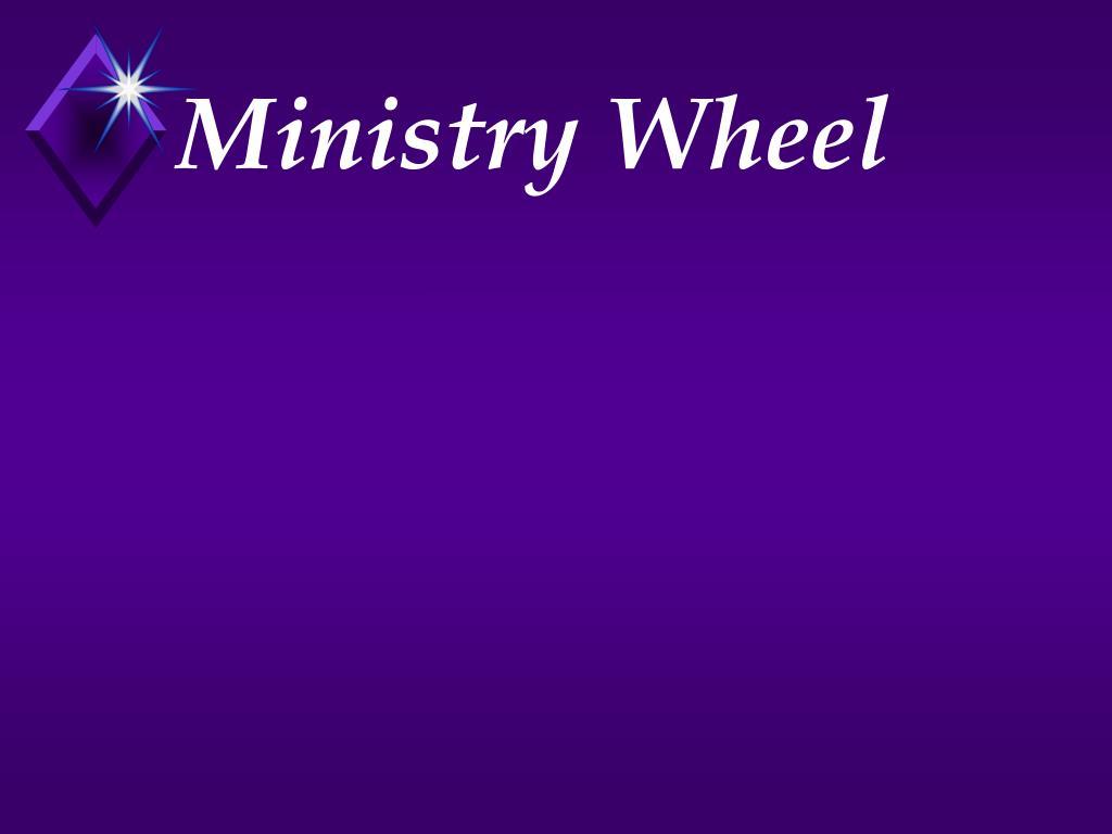 Ministry Wheel