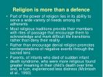religion is more than a defence5