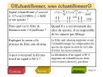 echantillonner sous chantillonner1