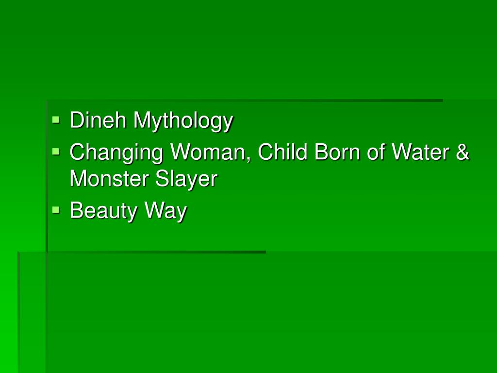 Dineh Mythology
