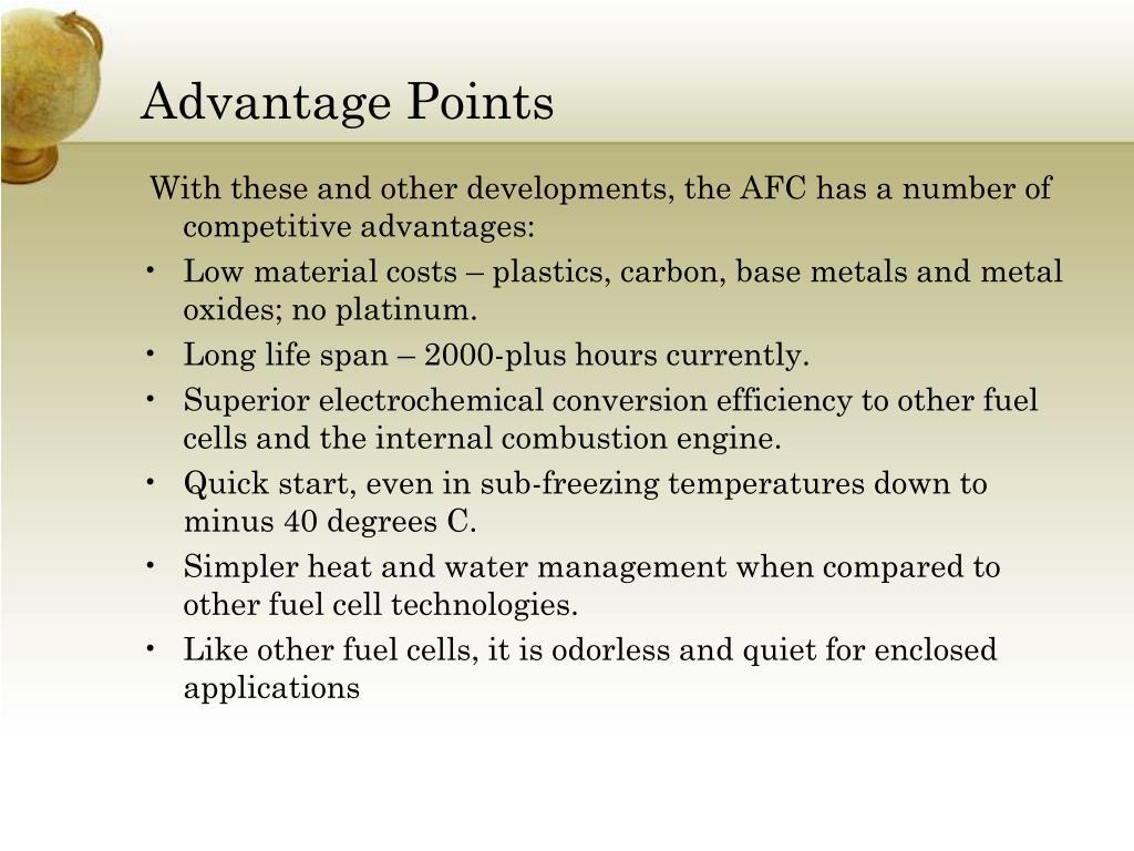 Advantage Points