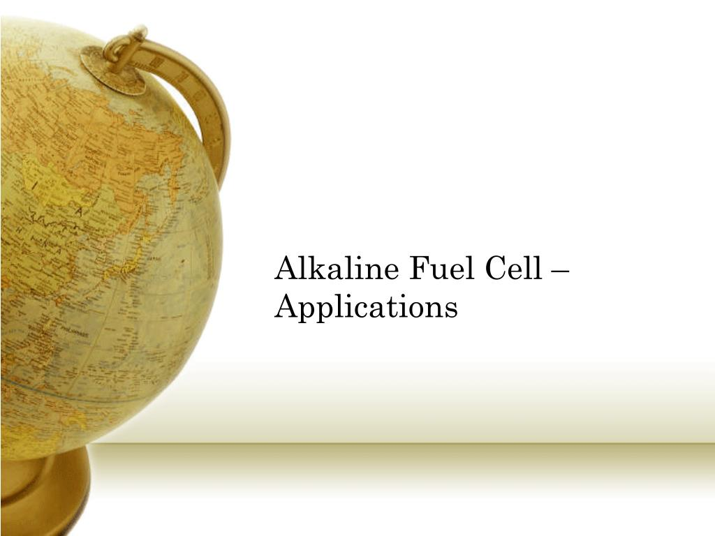 Alkaline Fuel Cell – Applications