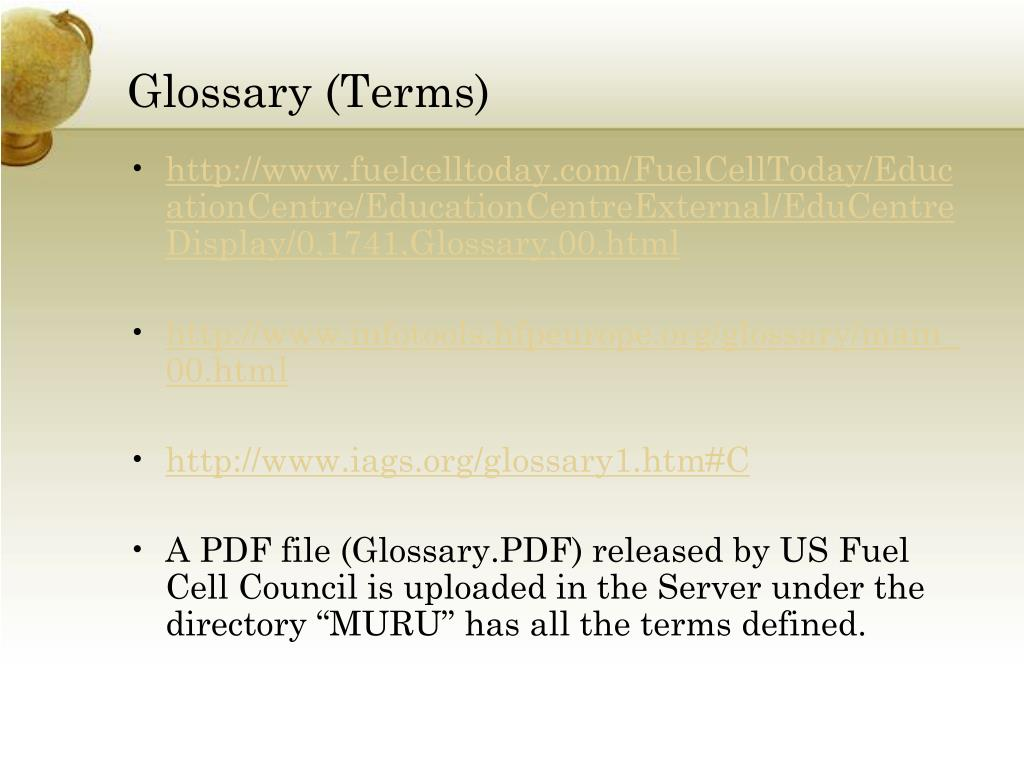 Glossary (Terms)