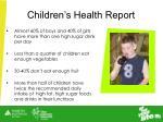 children s health report