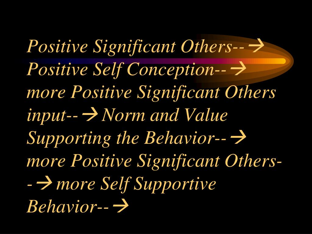 Positive Significant Others--