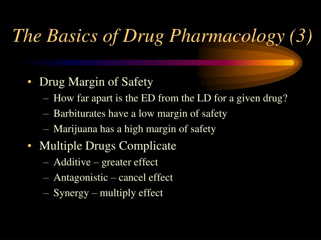 The Basics of Drug Pharmacology (3)