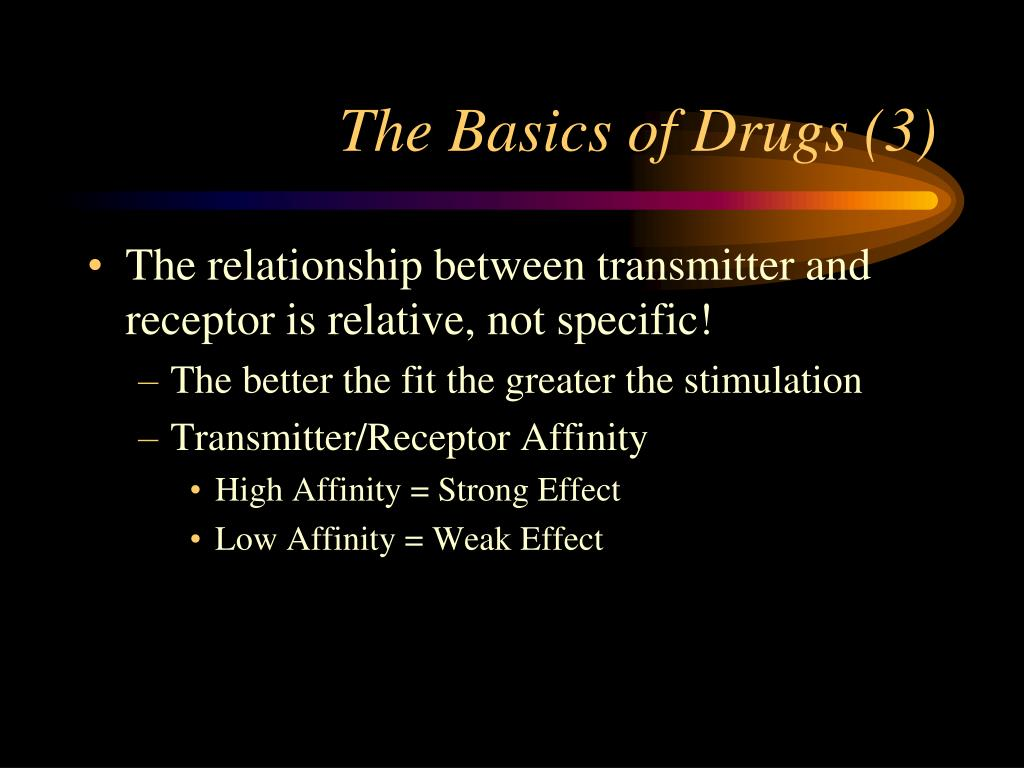 The Basics of Drugs (3)
