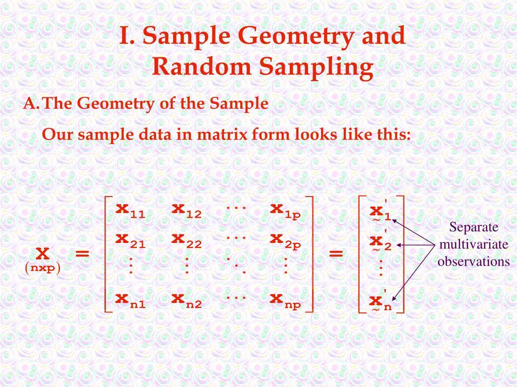 I. Sample Geometry and