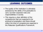 learning outcomes25