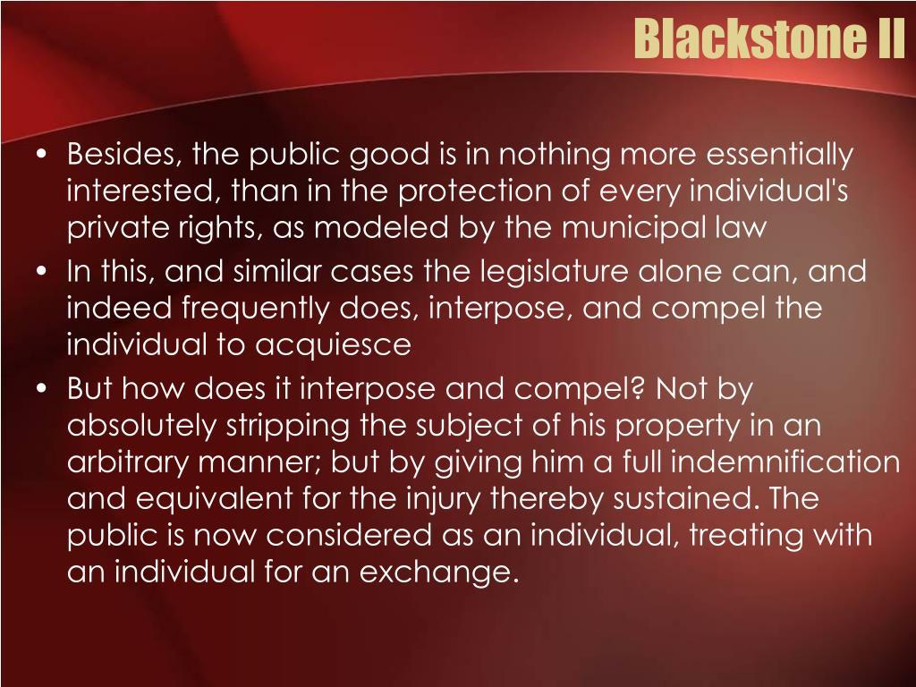 Blackstone II