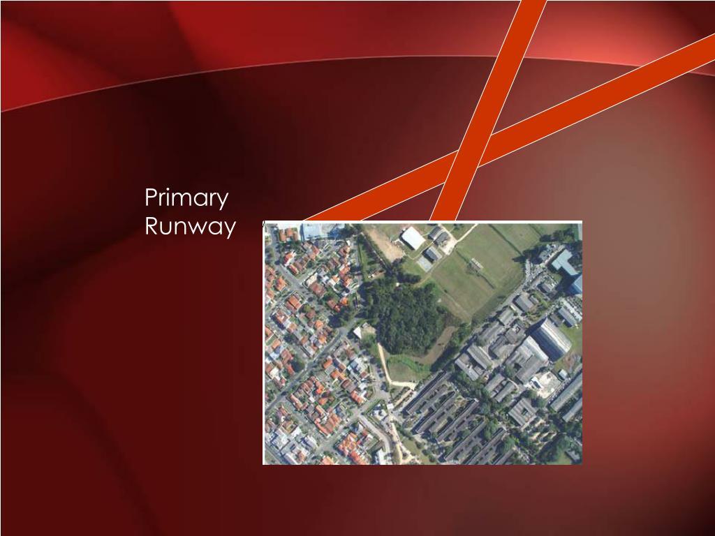 Primary Runway