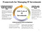 framework for managing it investments3