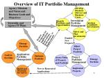 overview of it portfolio management