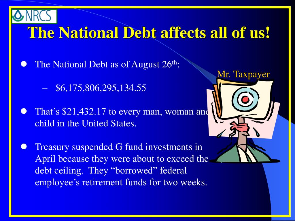 The National Debt affects all of us!
