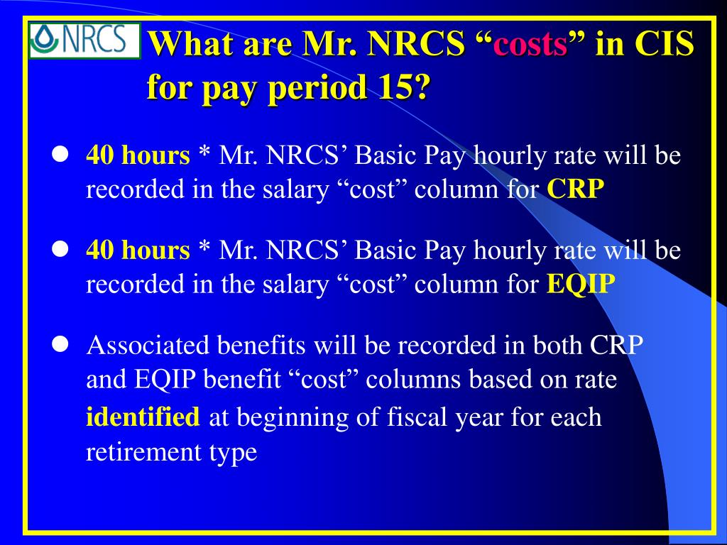 What are Mr. NRCS ""