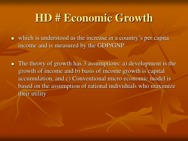 HD # Economic Growth