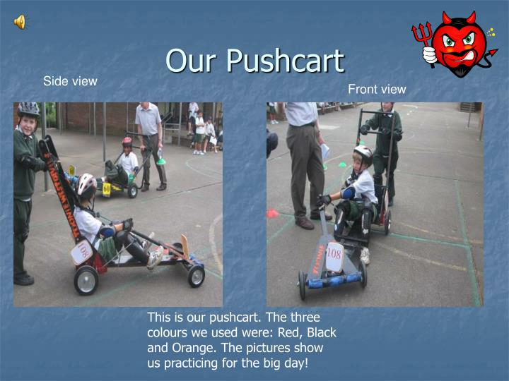 Our pushcart