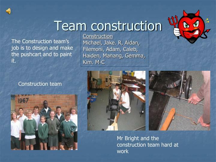 Team construction