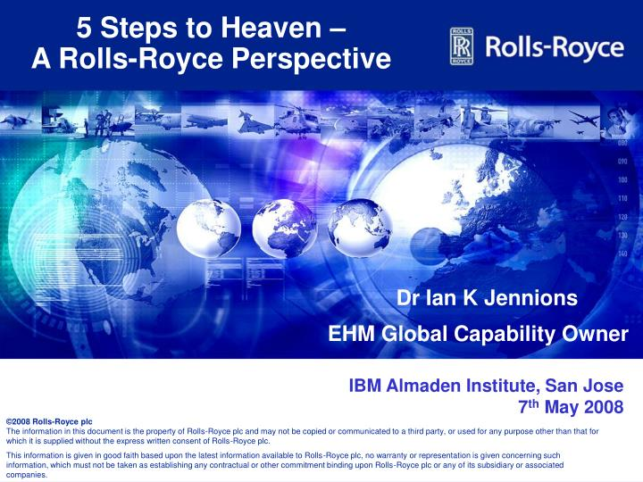5 steps to heaven a rolls royce perspective n.