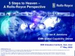5 steps to heaven a rolls royce perspective