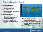 total care simulation example