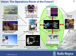 vision the operations room of the future