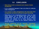 5 0 conclusion